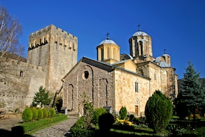 Eastern Serbia Monasteries and Resava Cave Tour from Belgrad