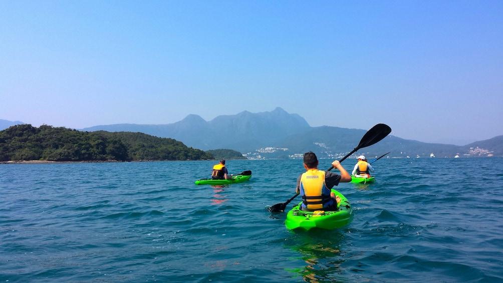 Show item 1 of 6. Group Kayaking on Hong Kong Geopark