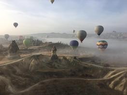 Hot-air Balloon Flight plus Private Tour of Cappadocia