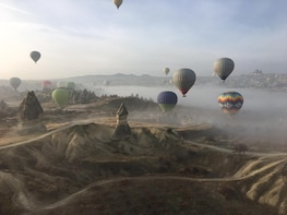 Balloon Ride & Shared Airport Return Transfer in Cappadocia