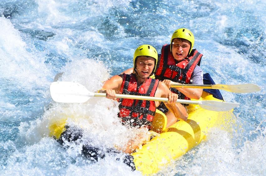Show item 2 of 4. Rafting on Koprucay River, Antalya