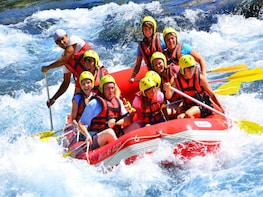 Rafting on Koprucay River, Antalya