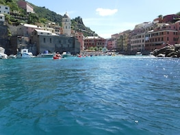 Cinque Terre Kayak Tour from Monterosso