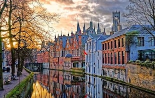 Bruges full day tour from Paris