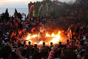 Tanah Lot and Uluwatu Temple Tour Including Seafood Dinner