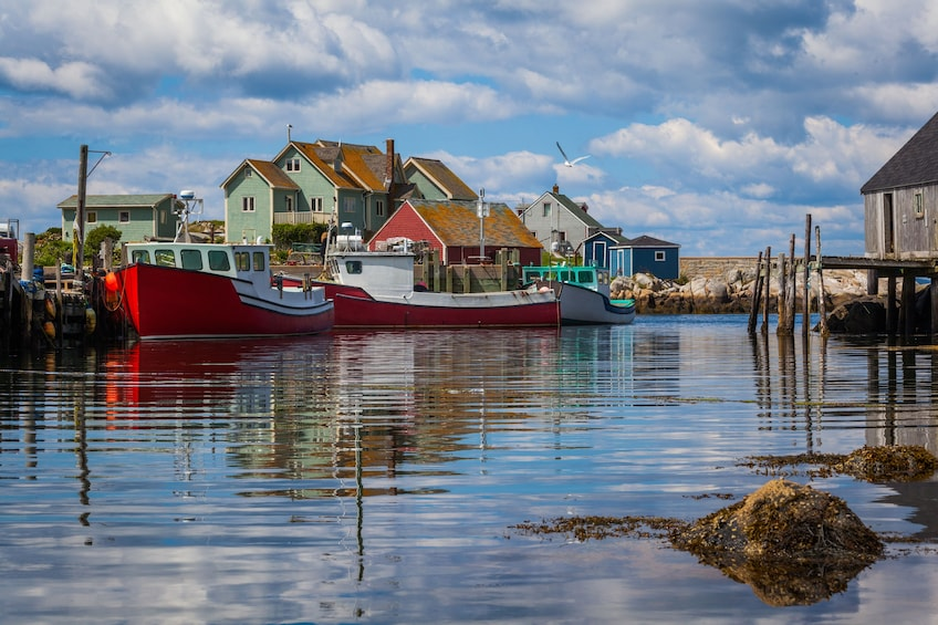 Halifax fishing village