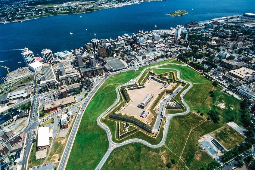 Show item 2 of 7. Aerial view of Halifax Citadel National Historic Site