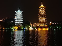 Guilin Four Lakes Night Cruise With English Speaking Driver