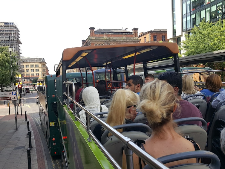 Show item 5 of 5. Sightseeing Manchester - hop on, hop-off bus tour