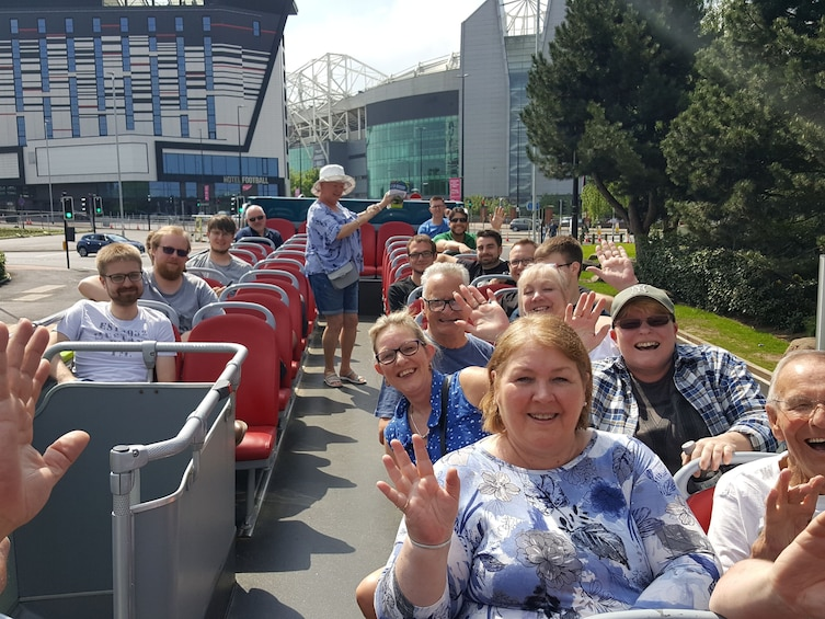 Show item 4 of 5. Sightseeing Manchester - hop on, hop-off bus tour