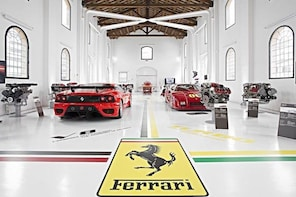 Day trip from Rome to the Ferrari Museum and Bologna