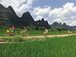 Half-Day Yangshuo Countryside Moderate Cycling Private Tour