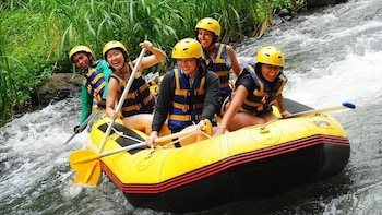 Telaga Waja River Rafting with Lunch and Hotel Transfer