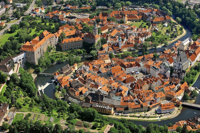 Show item 1 of 2. Full day tour to Cesky Krumlov from Prague