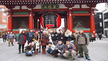 Asakusa Highlights Tour with National Licensed Guide