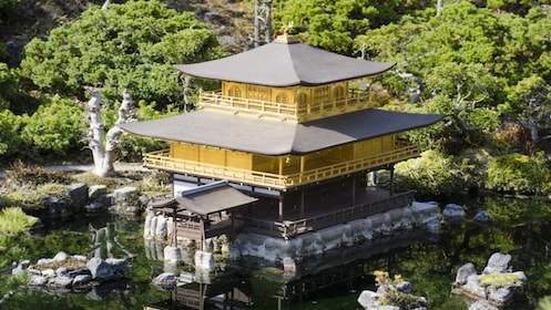 Golden Pavilion Kinkaku-ji Tour with National Licensed Guide