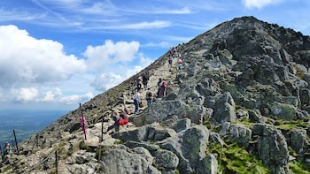 Full-day tour and climb to Snezka, Czech highest mountain