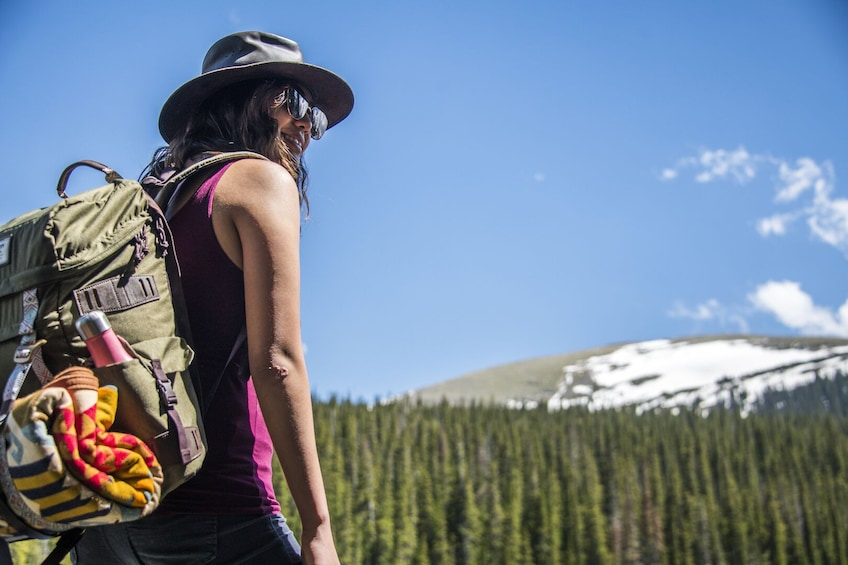 Show item 1 of 8. Hiking in Rocky Mountain National Park