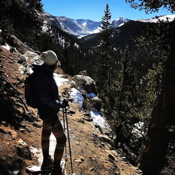Show item 5 of 8. Hiking in Rocky Mountain National Park