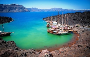 Volcanic Islands Cruise-Volcano,Hot Springs,Thirassia & Oia