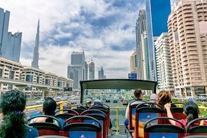 Dubai 24 Hours Hop-On Hop-Off Ticket & Dubai Aquarium Entry