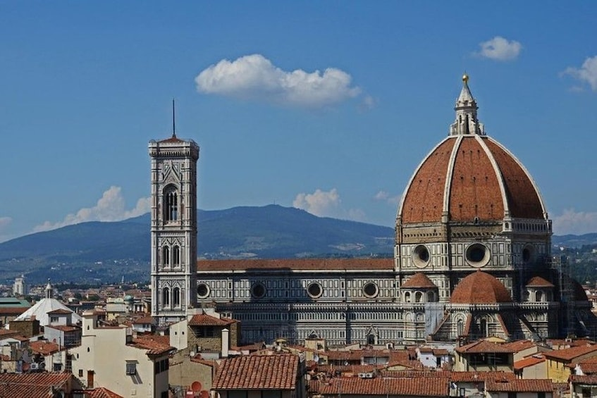 Show item 1 of 10. The Florence Cathedral on a sunny day
