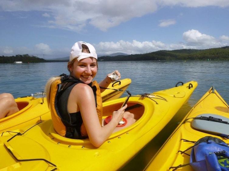 Show item 1 of 4. Oyster Tasting Kayak Tour