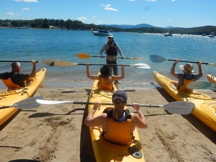 Show item 3 of 4. Oyster Tasting Kayak Tour