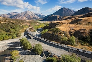 Arthur's Pass Day Trip via TranzApline from Christchurch
