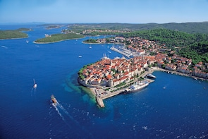 Korcula The Town of Marco Polo From Dubrovnik