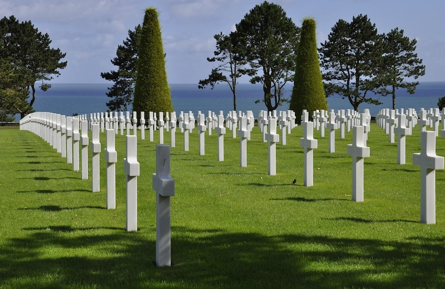 Show item 3 of 5. U.S. D-Day Sites Half-Day Tour From Bayeux