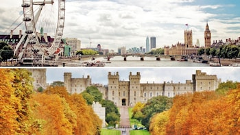 Private driver to visit London and Windsor 10 hours