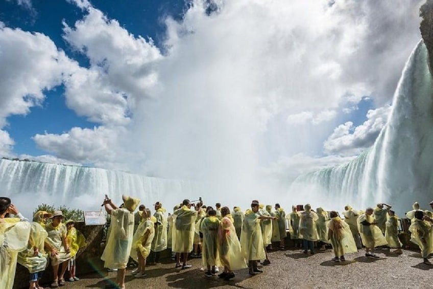 Show item 3 of 10. Journey behind the falls at Niagara Falls