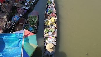 Tha Kha - perhaps Thailand's most authentic Floating Market