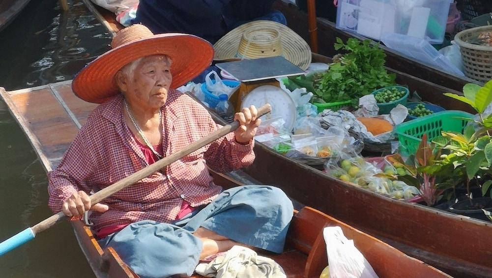 Show item 3 of 10. Tha Kha - perhaps Thailand's most authentic Floating Market