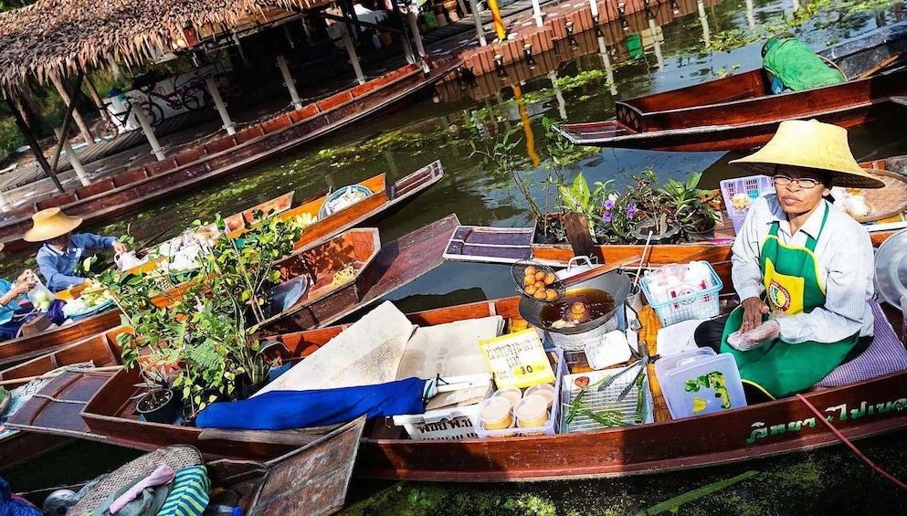 Show item 4 of 10. Tha Kha - perhaps Thailand's most authentic Floating Market