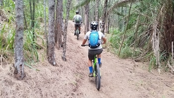Mountain Biking North Shore Trails