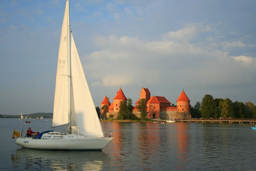 Show item 1 of 7. Tour to Trakai with excursion in the Castle