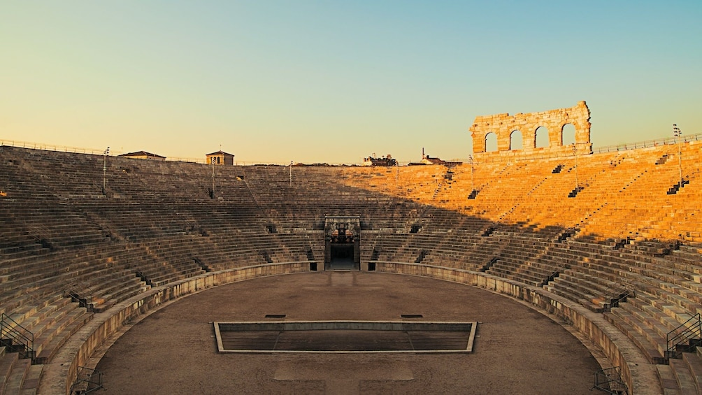 Show item 2 of 10. Interior of Verona Arena on a sunny day