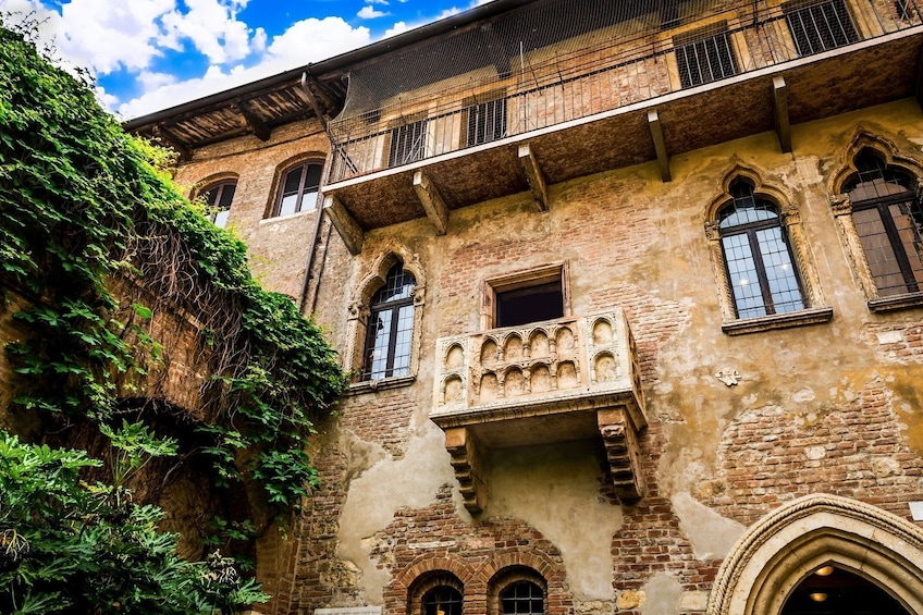 Show item 1 of 10. Juliet's House in Verona, Italy