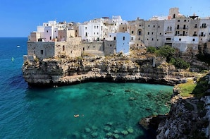From Lecce:Ostuni,Alberobello and Polignano Independent Tour