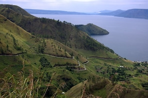 Medan Private Tour Lake Toba view from Highlands of Karo