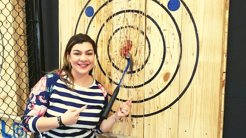 Axe Throwing in Syracuse