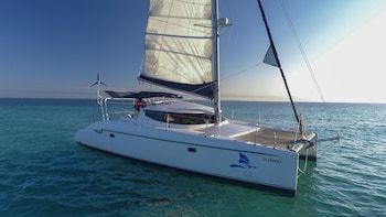 Private Charter on 40ft Catamaran for 4 Hours with Open Bar