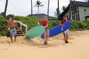 Kauai's Ultimate Semi-Private Surf Lesson