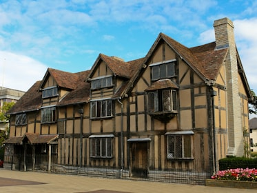 Shakespeare's Birthplace in Stratford-upon-Avon in England