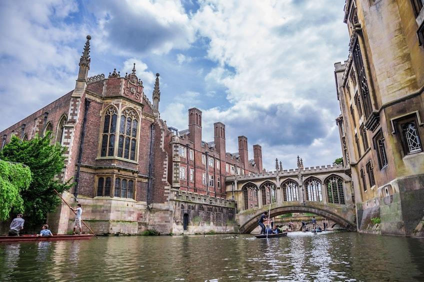 Bridge of Sighs at Cambridge