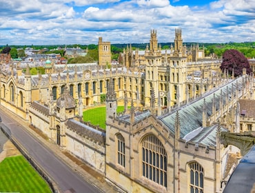 Radcliffe Camera Library in Oxford, England