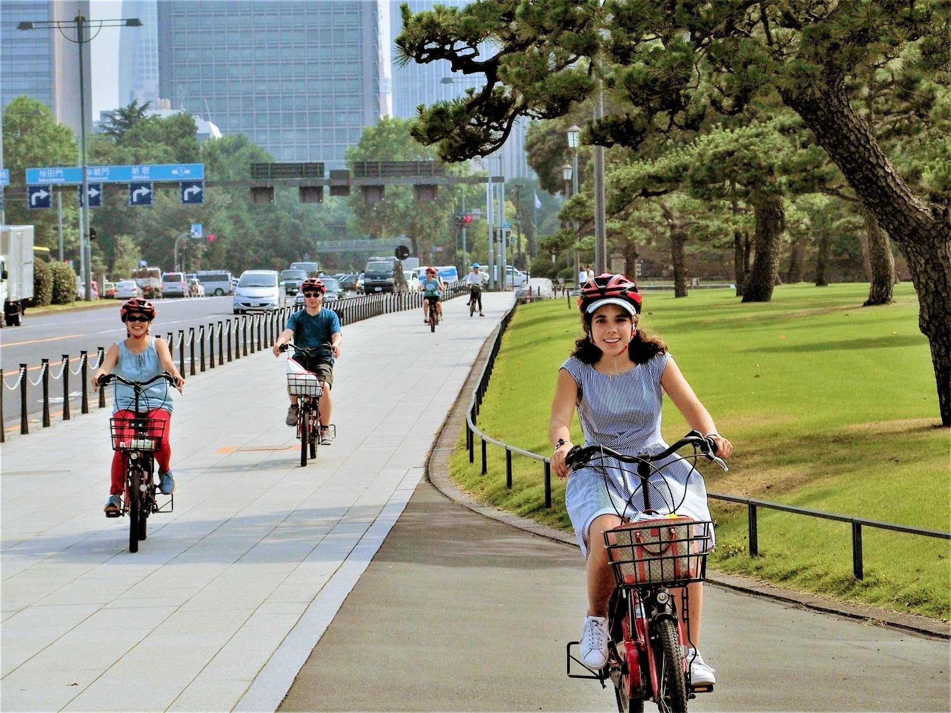 Tokyo 3 hours Electric-Powered CyclingTour