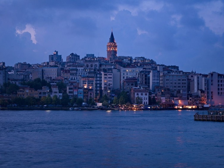 Show item 3 of 6. A Cruise on the Bosphorus in the Night with Traditional Show